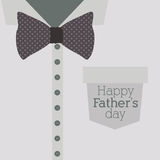 Fathers day design Royalty Free Stock Photo