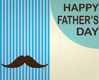 Fathers Day Design Royalty Free Stock Images