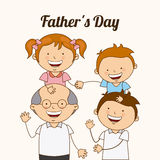Fathers day Stock Photography