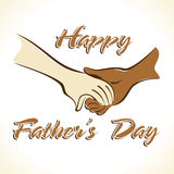 Fathers Day Greeting Stock Photo