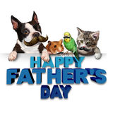 Fathers Day Greetings Royalty Free Stock Photo