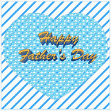 Fathers day greetings Stock Photos