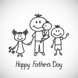 fathers day Royalty Free Stock Photography