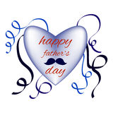 Fathers day. Happy fathers day family holiday Stock Photos