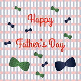 Fathers day. Happy fathers day family holiday Stock Images