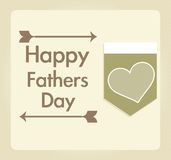 Fathers Day Icons and Cards Royalty Free Stock Photo