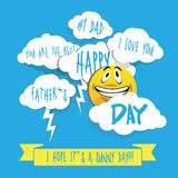Fathers Day illustration Stock Photo