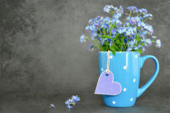 Fathers Day and Mothers Day flowers royalty free stock image
