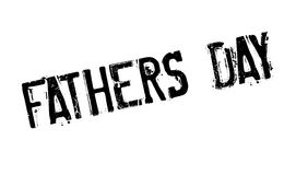 Fathers Day rubber stamp. Grunge design with dust scratches. Effects can be easily removed for a clean, crisp look. Color is easily changed Stock Image