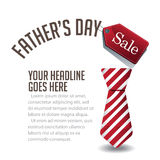 Fathers Day Sale Background EPS 10 Vector Royalty Free Stock Photos