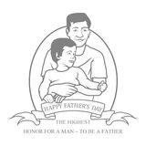 Fathers day. Stock Photo