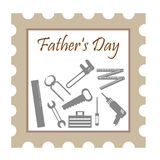 Fathers Day stamp Stock Photos