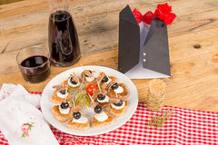 Fathers day tapas Stock Images