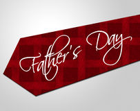 Fathers Day Tie Represents Parenting Cheerful And Fatherhood Royalty Free Stock Photos