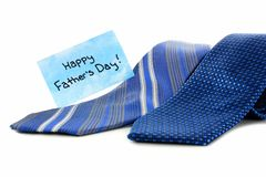 Fathers Day ties Royalty Free Stock Photo