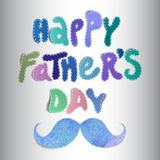Fathers day vector illustration Royalty Free Stock Photo