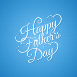 Fathers day vintage lettering background Stock Photo