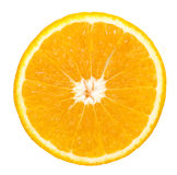 Fatia alaranjada da fruta Foto de Stock