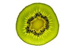 Fatia da fruta de quivi Fotografia de Stock