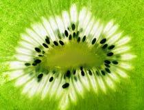 Fatia da fruta de quivi Imagem de Stock Royalty Free