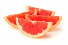 Fatia da laranja pigmentada Imagens de Stock Royalty Free
