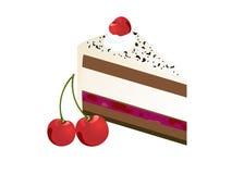 Fatia da torta Fotografia de Stock Royalty Free
