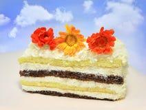 Fatia de bolo Fotos de Stock