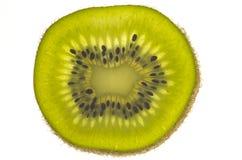 Fatia de fruta de quivi Foto de Stock