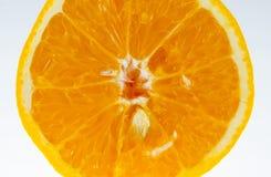 Fatia de fruto alaranjado Foto de Stock Royalty Free