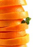 Fatia de laranja Fotografia de Stock