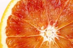 Fatia de laranja pigmentada Imagem de Stock Royalty Free