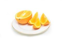 Fatia de laranjas Foto de Stock