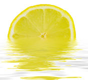 Fatia de limão Fotografia de Stock Royalty Free