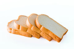 Fatia de pão Fotografia de Stock Royalty Free