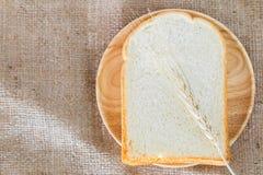 Fatia de pão Fotos de Stock Royalty Free