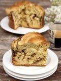 Fatia de pão doce Fotografia de Stock Royalty Free