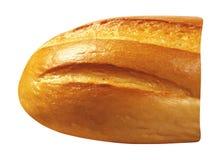 Fatia de pão isolada imagem de stock royalty free