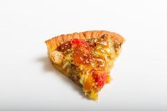 Fatia de pizza italiana saboroso imagens de stock