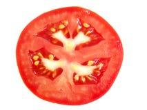 Fatia de tomate Imagem de Stock Royalty Free