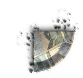 Fatia de torta do dinheiro do Kronor de sueco Fotografia de Stock