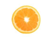 Fatia de uma laranja imagem de stock