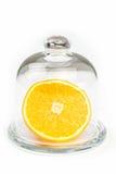 Fatia de uma laranja Imagem de Stock Royalty Free
