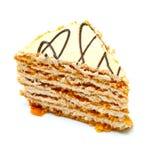Fatia de uma torta Imagem de Stock Royalty Free