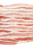 Fatia do bacon Foto de Stock Royalty Free
