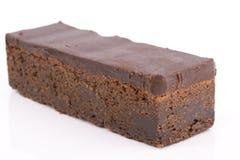 Fatia do chocolate Imagens de Stock