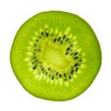 Fatia do fruto de quivi do Actinidia Fotos de Stock Royalty Free