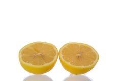 Fatia do limão Foto de Stock Royalty Free