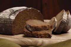 Fatia do pão de Rye Foto de Stock