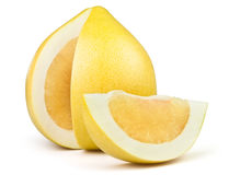Fatia do Pomelo Foto de Stock
