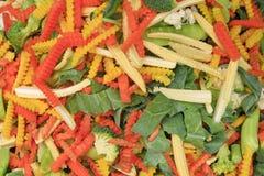 Fatia do vegetal da variedade Imagem de Stock Royalty Free